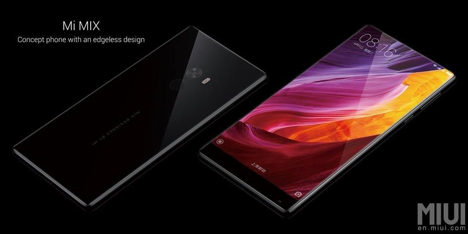 Xiaomi анонсировала «безрамочный» смартфон скерамическим корпусом