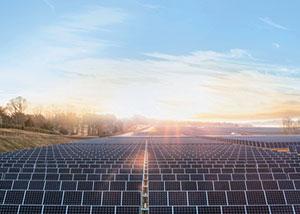 Поля солнечных батарей