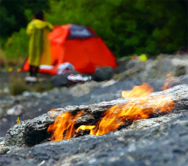 Огонь на горе Химера