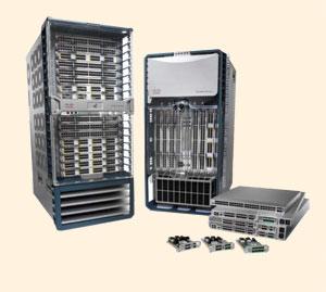 Компания Cisco представила на рынок целое семейство (Nexus) специализированных коммутаторов для ЦОДов