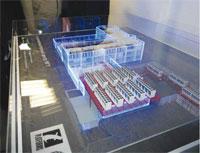 Макет суперкомпьютерного центра МГУ